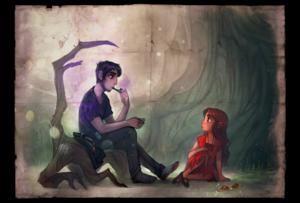 Ava Ire and Odin Arrow