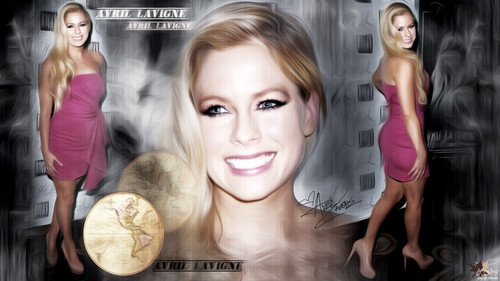 Avril Lavigne پیپر وال probably with a تامیل, ٹامالا entitled Avril Lavigne