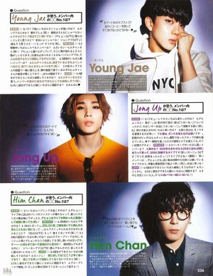 B.A.P in Japanese CanCam magazine Jan. 2015 edition