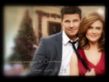 B & B Christmas Peace, Love & Joy - bones wallpaper