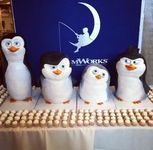 Baby Penguins Cakes
