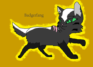 Badgerfang-LightningClan cat
