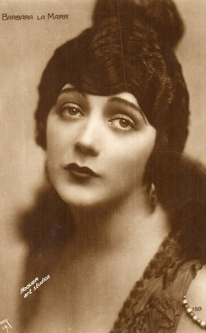 Barbara La Marr (July 28, 1896 – January 30, 1926)