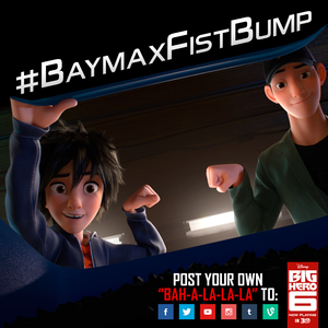 Baymax Fist Bump!