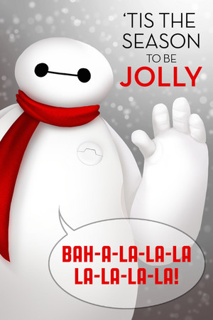 Baymax Holiday Card