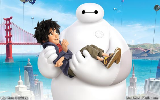 Baymax and Hiro :]