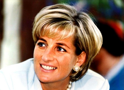 Princess Diana wallpaper containing a portrait called Beautiful Lady Di ♥