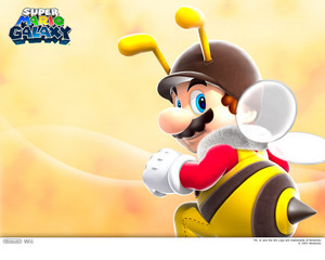 Bee Mario Background