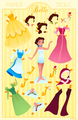 Belle Paper Doll - disney-princess photo