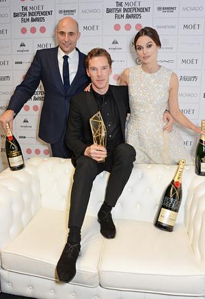 Ben, Keira and Mark - BIFA 2014