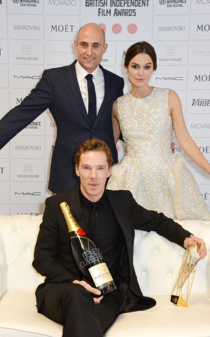 Ben, Keira and Mark - BIFA 2014