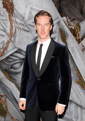 Benedict Cumberbatch at The Hobbit: The Battle of the Five Armies Premiere