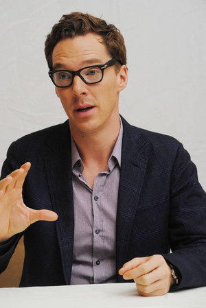 Benedict Cumberbatch at the Hollywood Foreign Press Association press conference