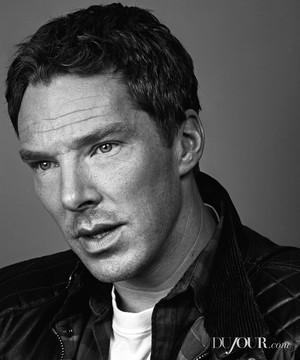 Benedict Cumberbatch for DuJour