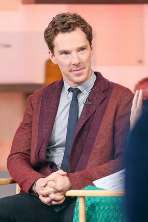 Benedict Interviewed on Good Morning America