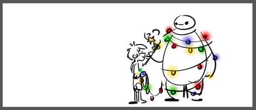 big hero 6 gambar Big Hero 6 - Baymax natal pohon Storyboard ...