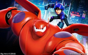 Big Hero 6 - Baymax and Hiro