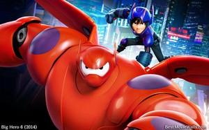 Big Hero 6 - Baymax and Hiro