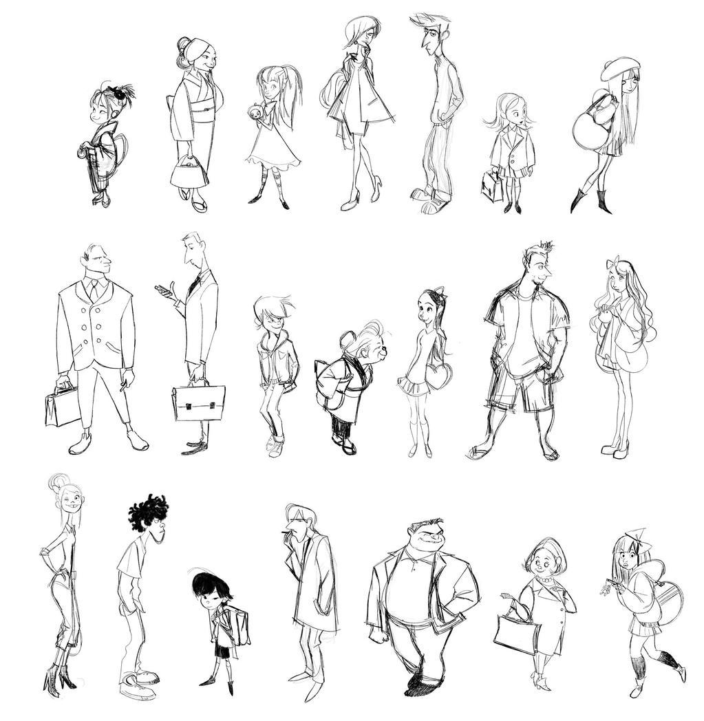 Character Design Background : Big hero concept art photo  fanpop