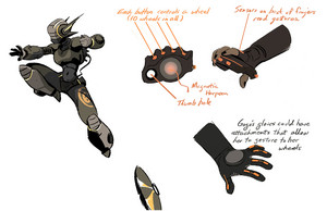 Big Hero 6 - Early GoGo Concept Art