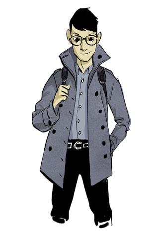Big Hero 6 - Early Tadashi Concept Art