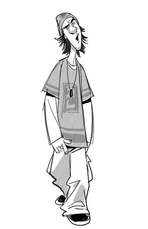 Big Hero 6 - Fred Concept Art