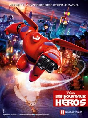 Big Hero 6 French Poster