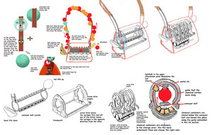 Big Hero 6 - Honey Lemon Purse Concept Art