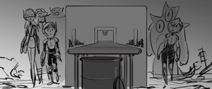 Big Hero 6 Storyboard Sketches