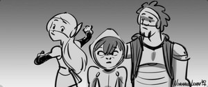 Big Hero 6 Storyboard Sketches