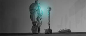 Big Hero 6 Storyboard sketch