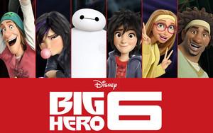 Big Hero 6 hình nền