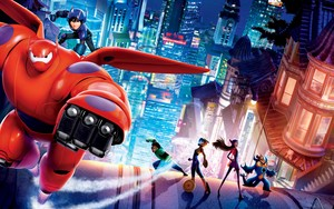 Big Hero 6 fond d'écran
