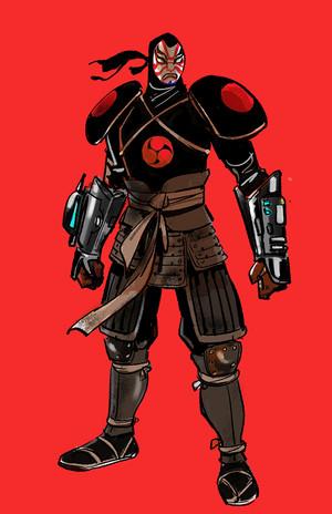 Big Hero 6 - Yokai Concept Art