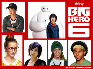 Big Hero 6 real life characters