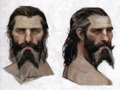 Blackwall concept art from The Art of Dragon Age: Inquisition
