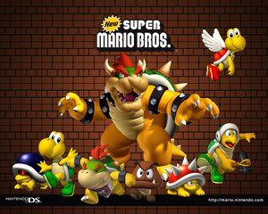 Bowser and his Baddies Background