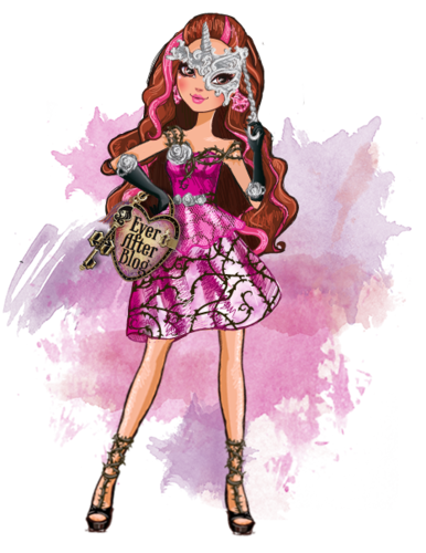Ever After High wallpaper possibly with Anime titled Briar Beauty