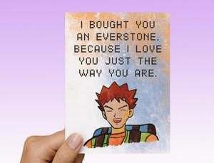 Brock Pokemon pag-ibig Card