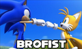 Brofist yas yas - sonic-the-hedgehog fan art