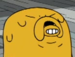 Buscemi Face Jake - adventure-time-with-finn-and-jake icon