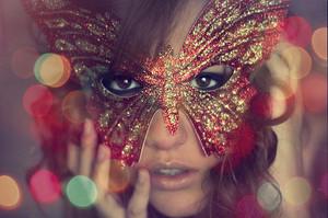 तितली Mask