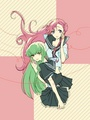 C.C. and Euphemia li Britannia - code-geass fan art