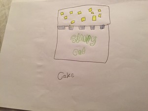 Cake - Stampy long nose