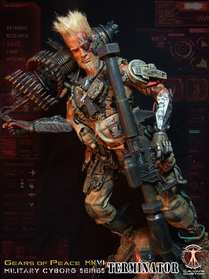 Calvin's Custom One Sixth 1:6 Scale Custom Terminator