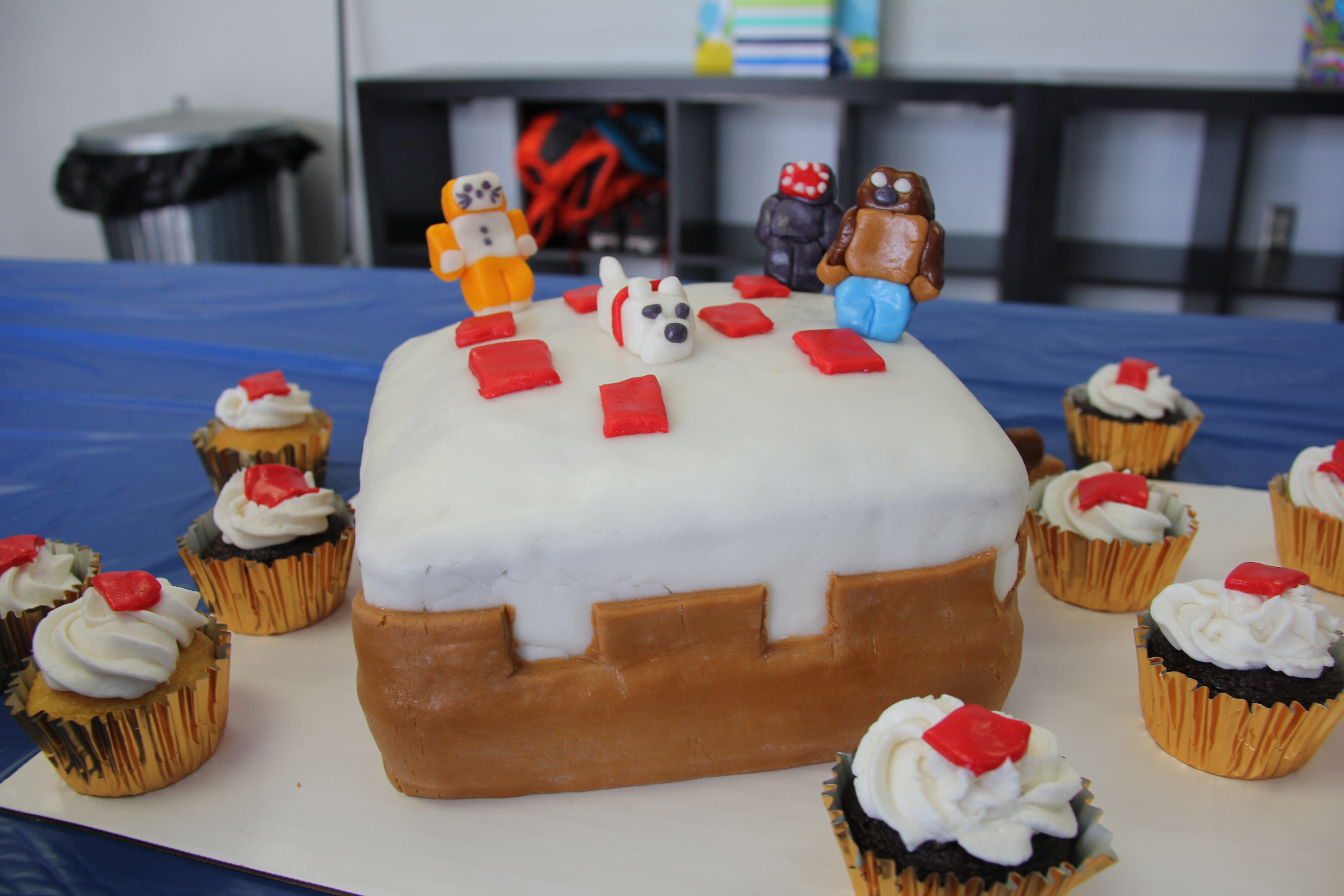 Stampylongnose Images Camerons 9th Birthday Minecraft Cake Birthday