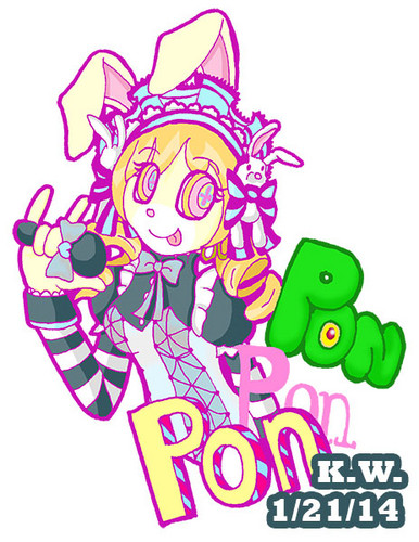 Mahou Shoujo Madoka Magica hình nền titled Canderolo Bunny