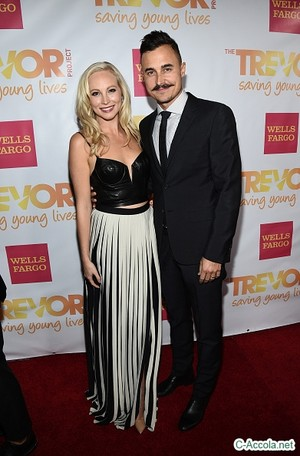 Candice attends TrevorLIVE Los Angeles