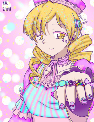 Candy and Sweet Mami Tomoe