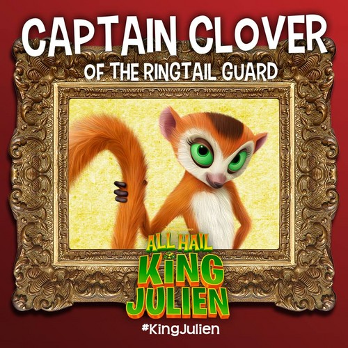 पेंग्विन्स ऑफ मॅडगास्कर वॉलपेपर probably containing ऐनीमे titled Captain Clover of the RingTail Guard